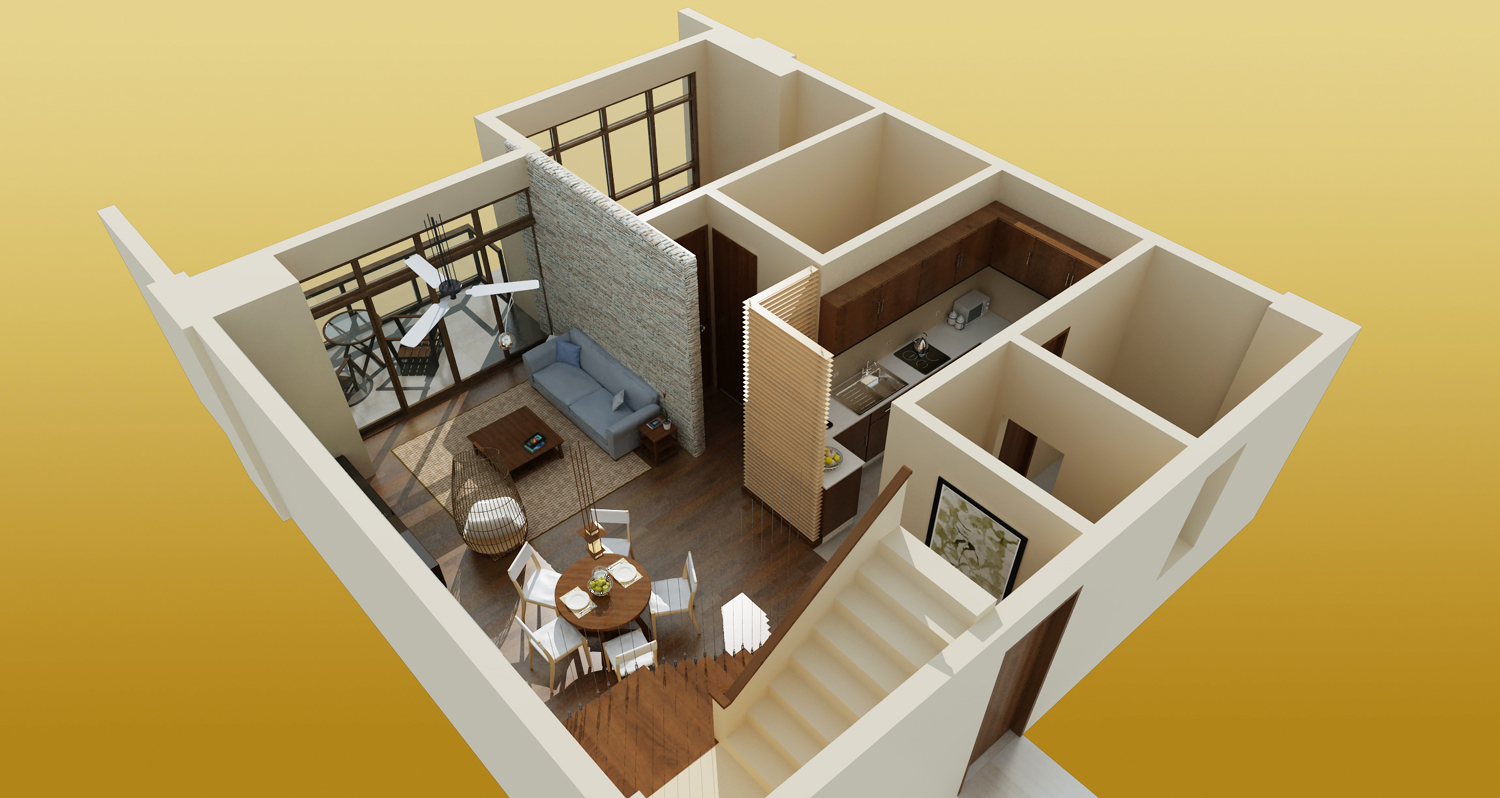 highly detailed 3d floor plans a great commercial real
